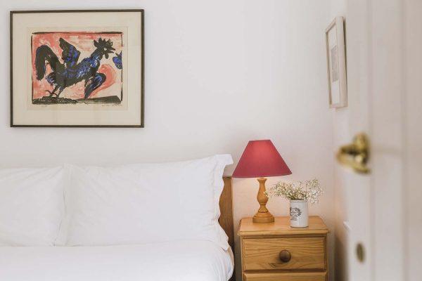 Double bedroom detail in Upper Saltings