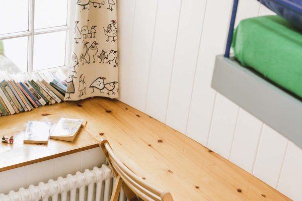 Children's desk in Upper Saltings