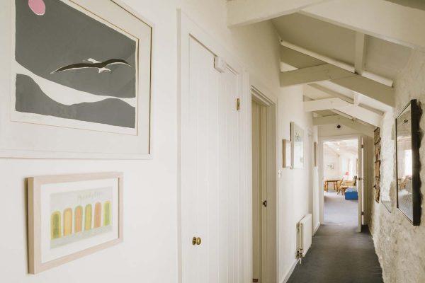 Hallway of Upper Saltings in St Ives