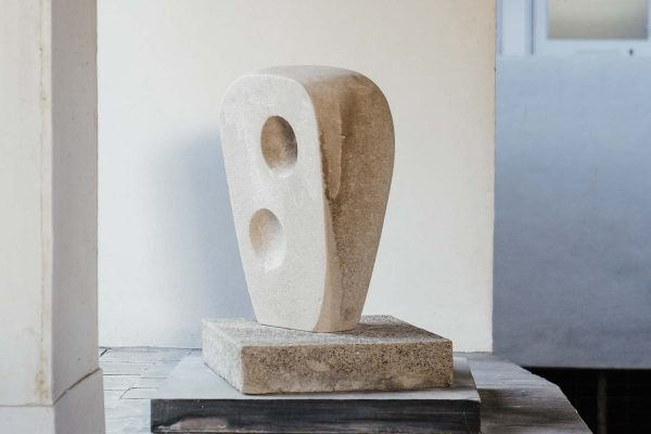 Barbara Hepworth Sculpture at Piazza in St Ives