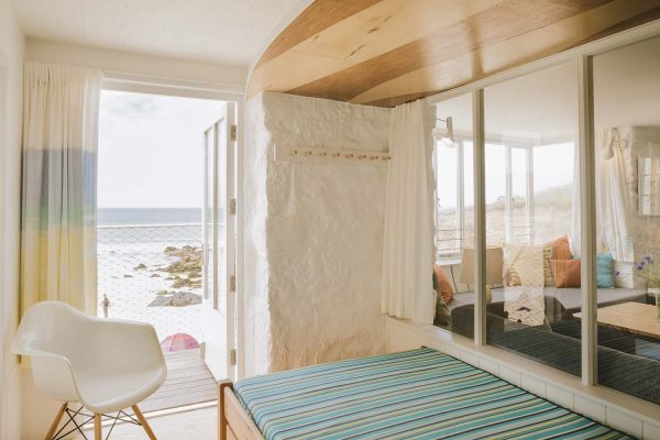 Zen Room in Old Saltings with fabulous sea views over Porthmeor Beach